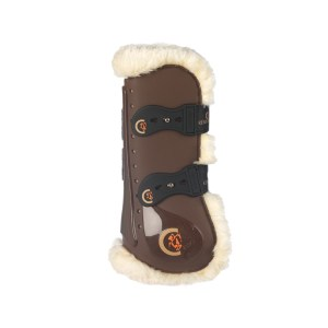 Kentucky Sheepskin Tendon Boots Elastic
