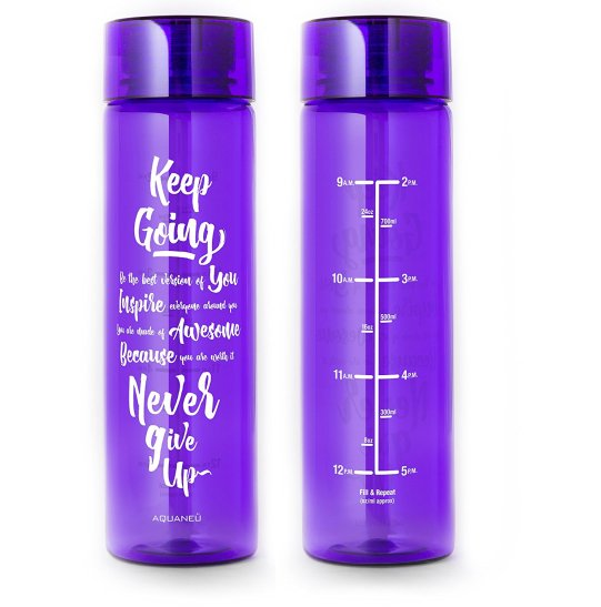 Inspirational Fitness Water Bottle