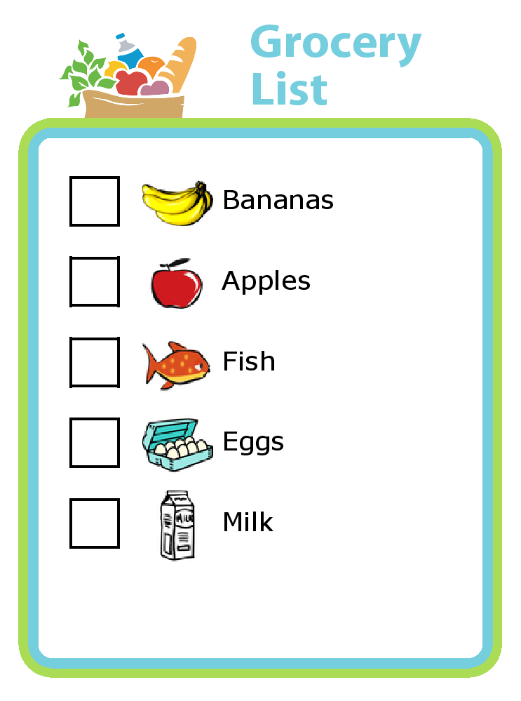 The Trip Clip Grocery List