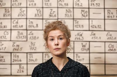 Madame Curie premio del BCN Film Fest 2020 a Rosamund Pike como mejor actriz