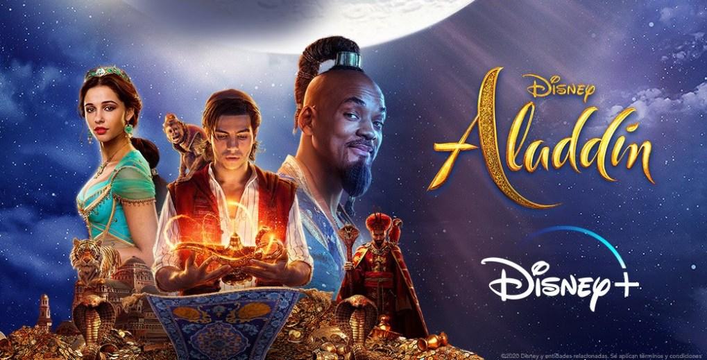 Póster de Aladdin para Disney +