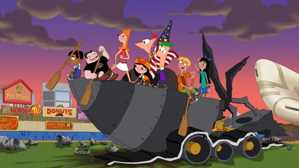 Phineas Ferb y Candace