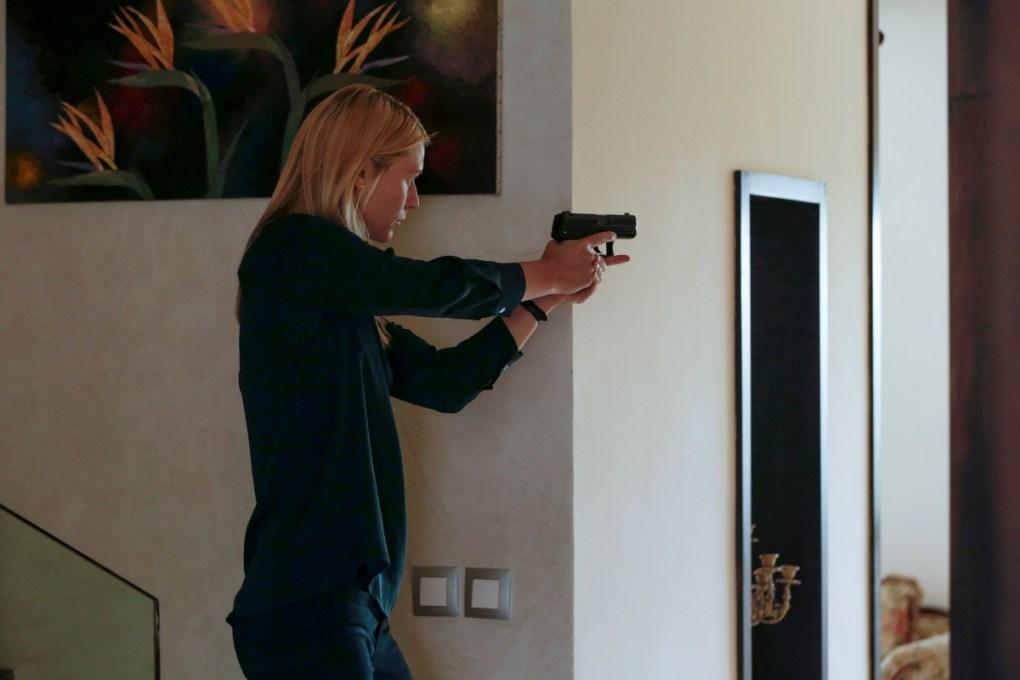 Carrie en el episodio final