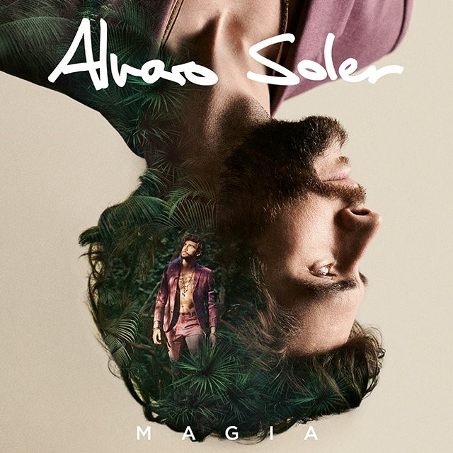 Portada del álbum de Álvaro Soler llamado Magia