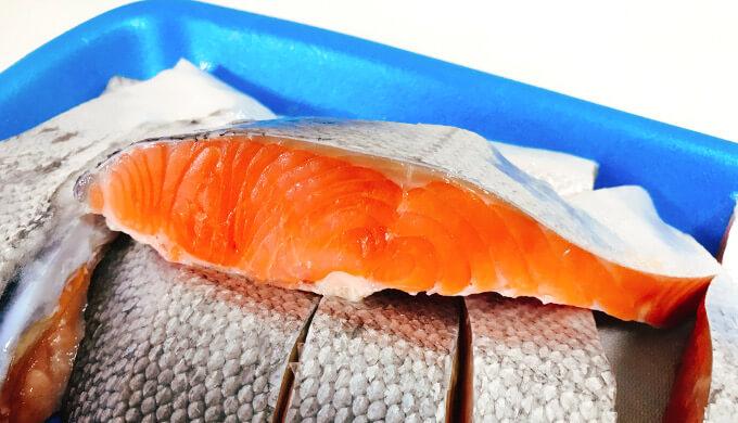 銀鮭(断面)