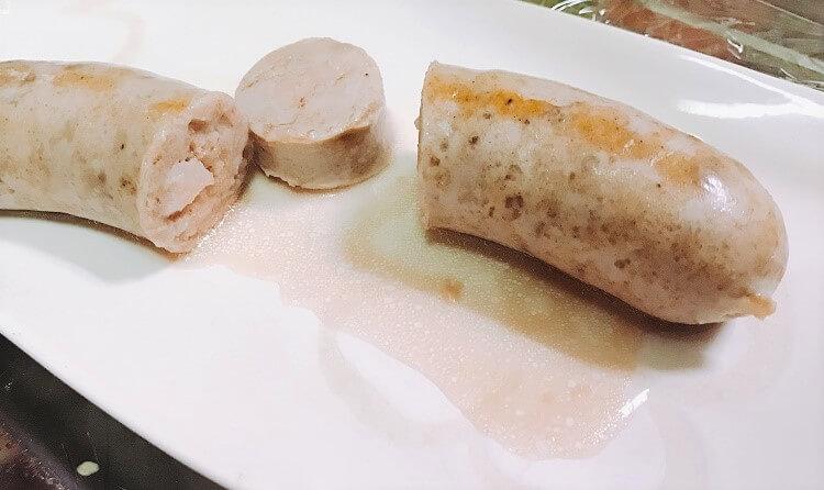 フレッシュソーセージ(肉汁)