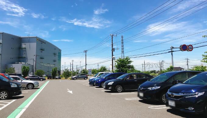 コストコ新三郷土日の平面D駐車場