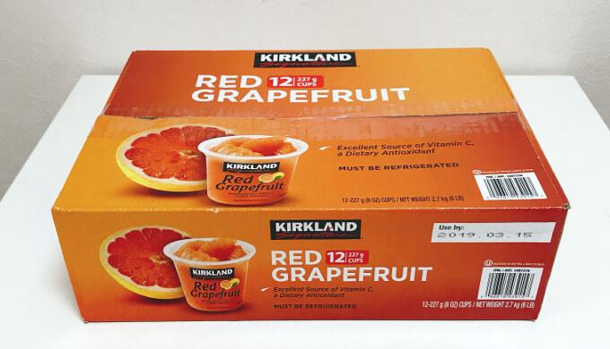 グレープフルーツカップ