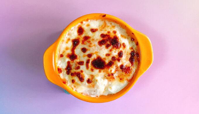 明太ばらこ(豆腐グラタン)
