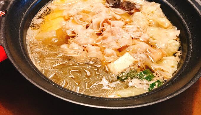 カット韓国春雨(鍋の具に)