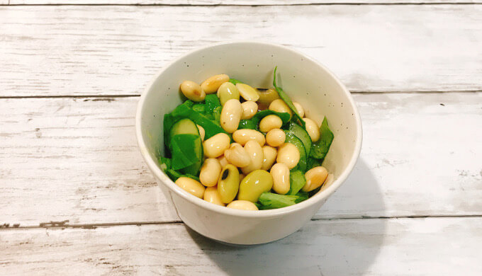おいしい発芽大豆(オリーブオイル和え)