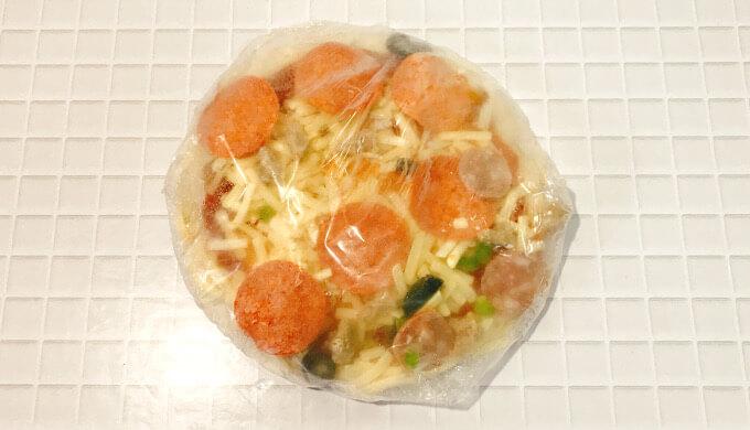 トロナペパロニピザ(冷凍状態)