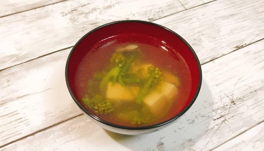 ブロッコリーニ(中華スープ)