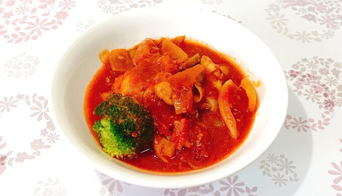 甘辛チキン(トマト煮)