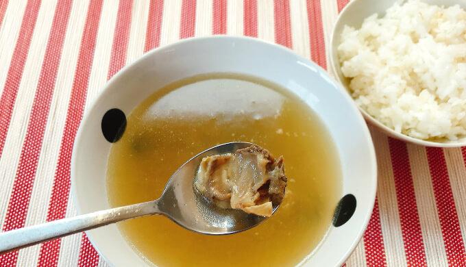 カルビタン(スープの中の肉)