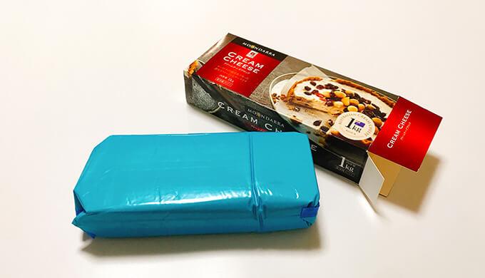 ムーンダラクリームチーズ(箱の中)