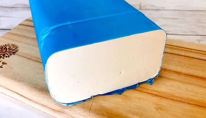 ムーンダラクリームチーズ(チーズ断面)