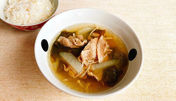 ビーフバラ薄切り(スープ)