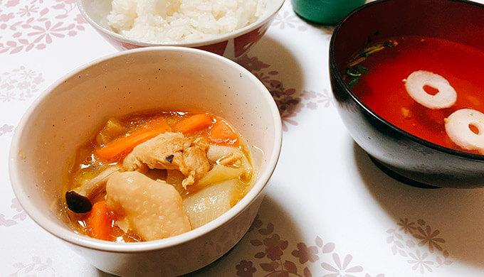 鶏の西京みそ漬け(煮物)