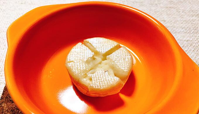 ミニブリーチーズ(加熱)