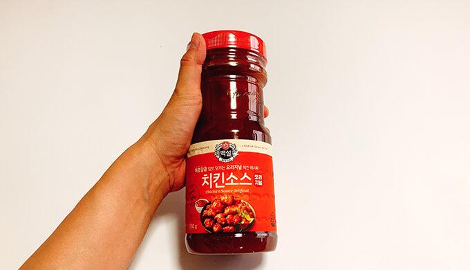 ヤンニョムチキンソース(ボトルのサイズ)