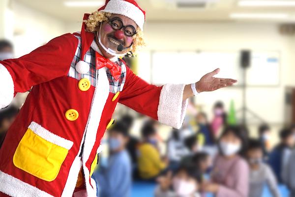 子ども会のクリスマス会での愉快なショーとバルーンアート教室はみんなで一緒に大騒ぎ♪愛知県名古屋市
