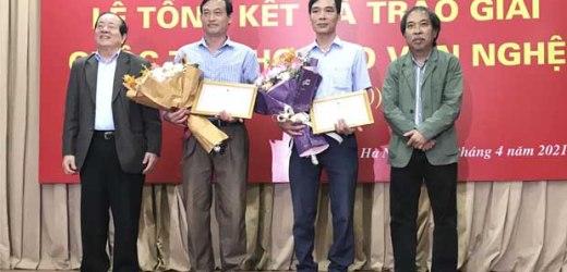 Trao giải Cuộc thi Thơ báo Văn Nghệ 2019-2020