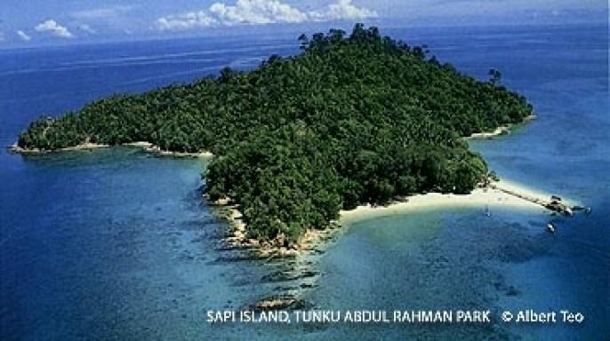 Pulau Sulug di Sabah Terhebat tunku abdul rahman national park sabah malaysia bombastic borneo