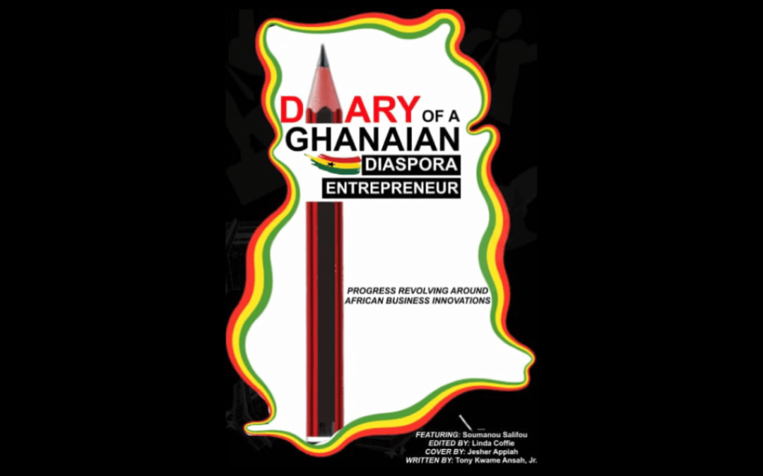 New Diary by Ghanaian American Author & Entrepreneur
