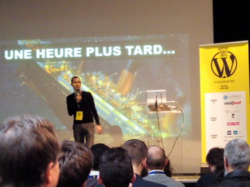 Présentation de Alexandre Bortolotti au WordCamp Paris 2014