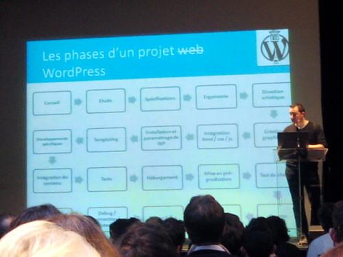 Présentation de Thierry Pigot au WordCamp Paris 2014