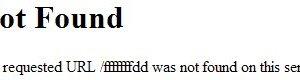 Liste des fichiers à créer pour réduire les erreurs 404