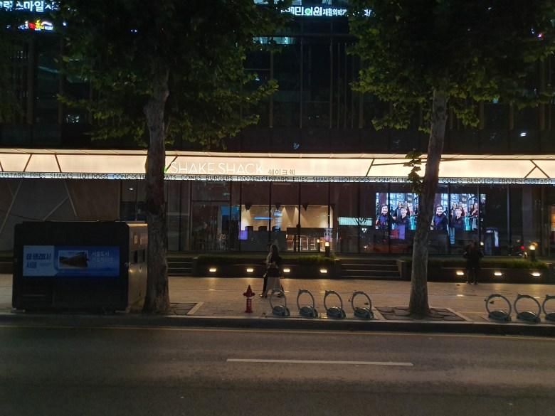 Shake Shack Jong-Gak Store: On Construction