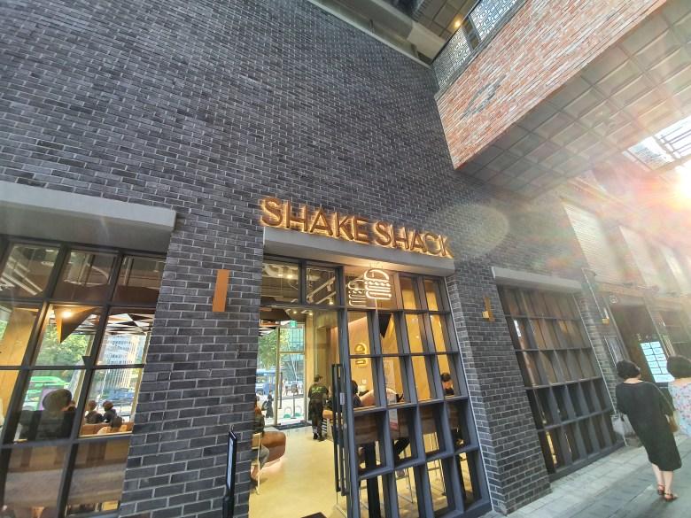 Shake Shack Jong-Gak Store: Back Door
