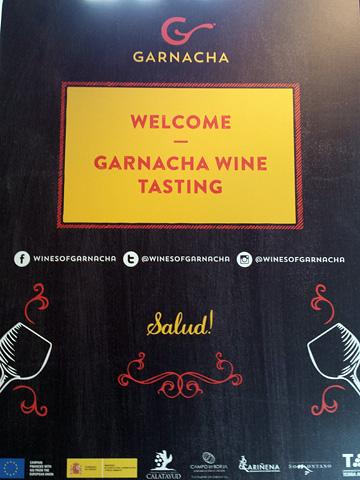 poster: GARNACHA | WELCOME ~ GARNACHA WINE TASTING | Salud!