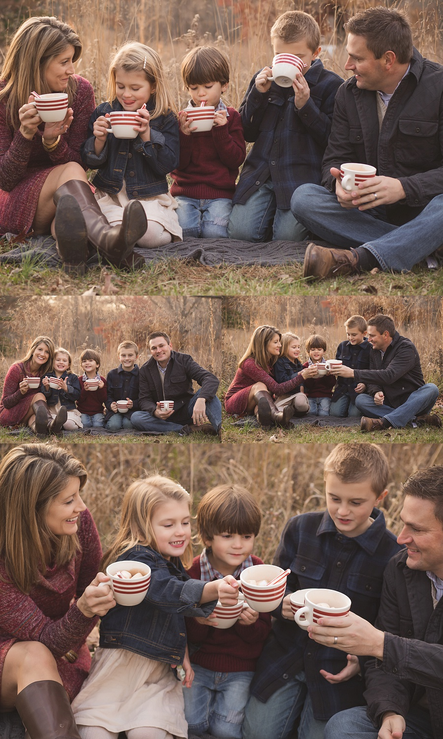 Winter family session in the woods   Tonya Teran Photography - Bethesda, MD Newborn Baby and Family Photography