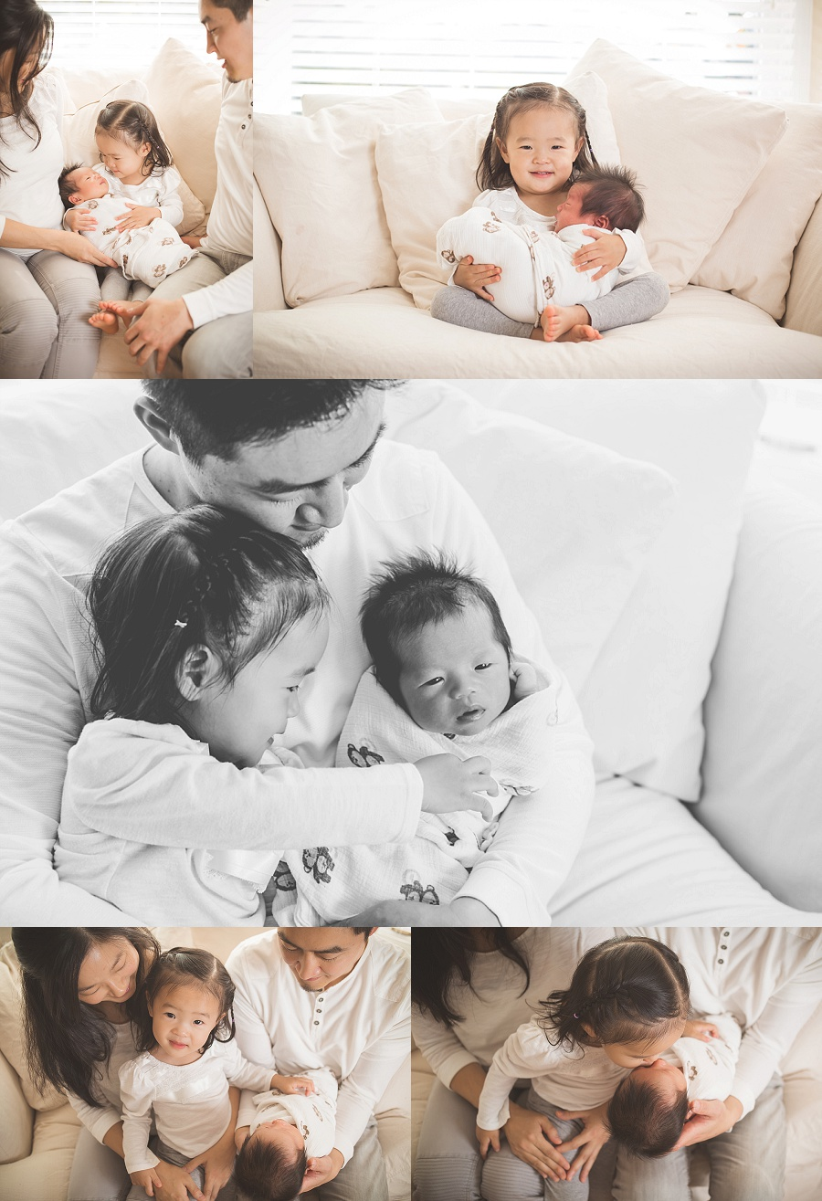 lifestyle newborn and family session | Tonya Teran Photography - Rockville, MD newborn baby and family photographer
