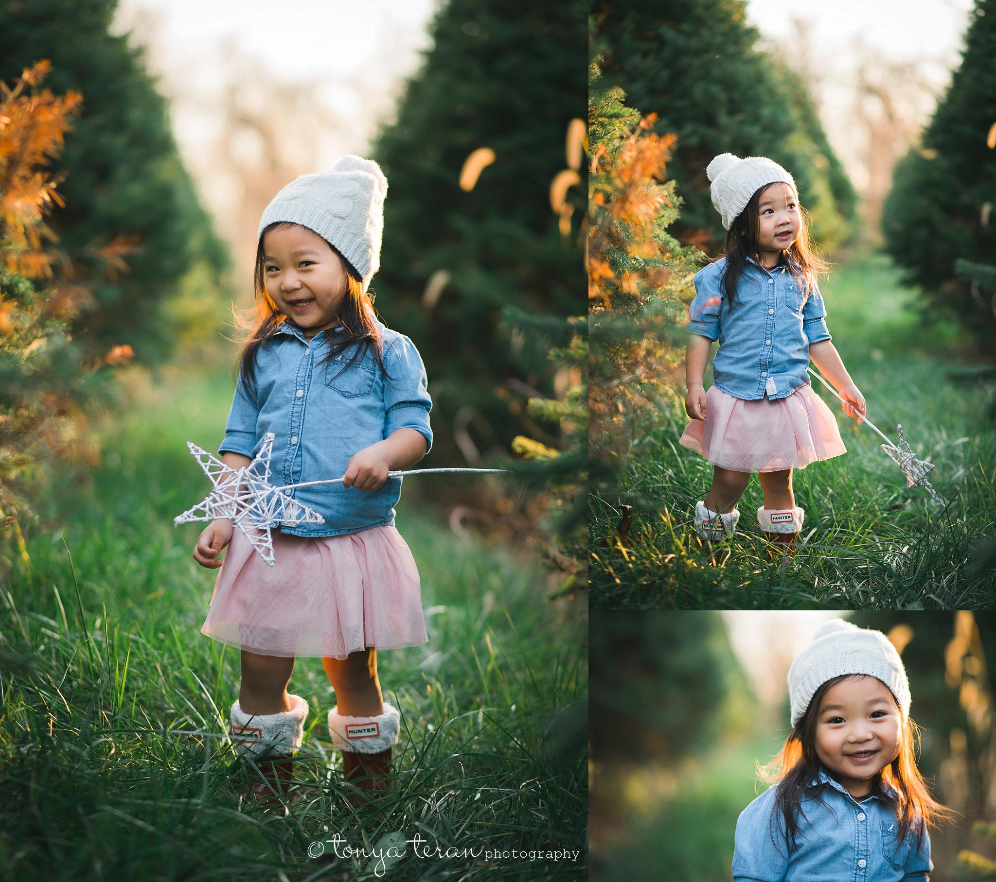 Christmas Tree Farm Holiday Mini Sessions | Tonya Teran Photography, Germantown, MD Newborn, Baby, and Family Photographer