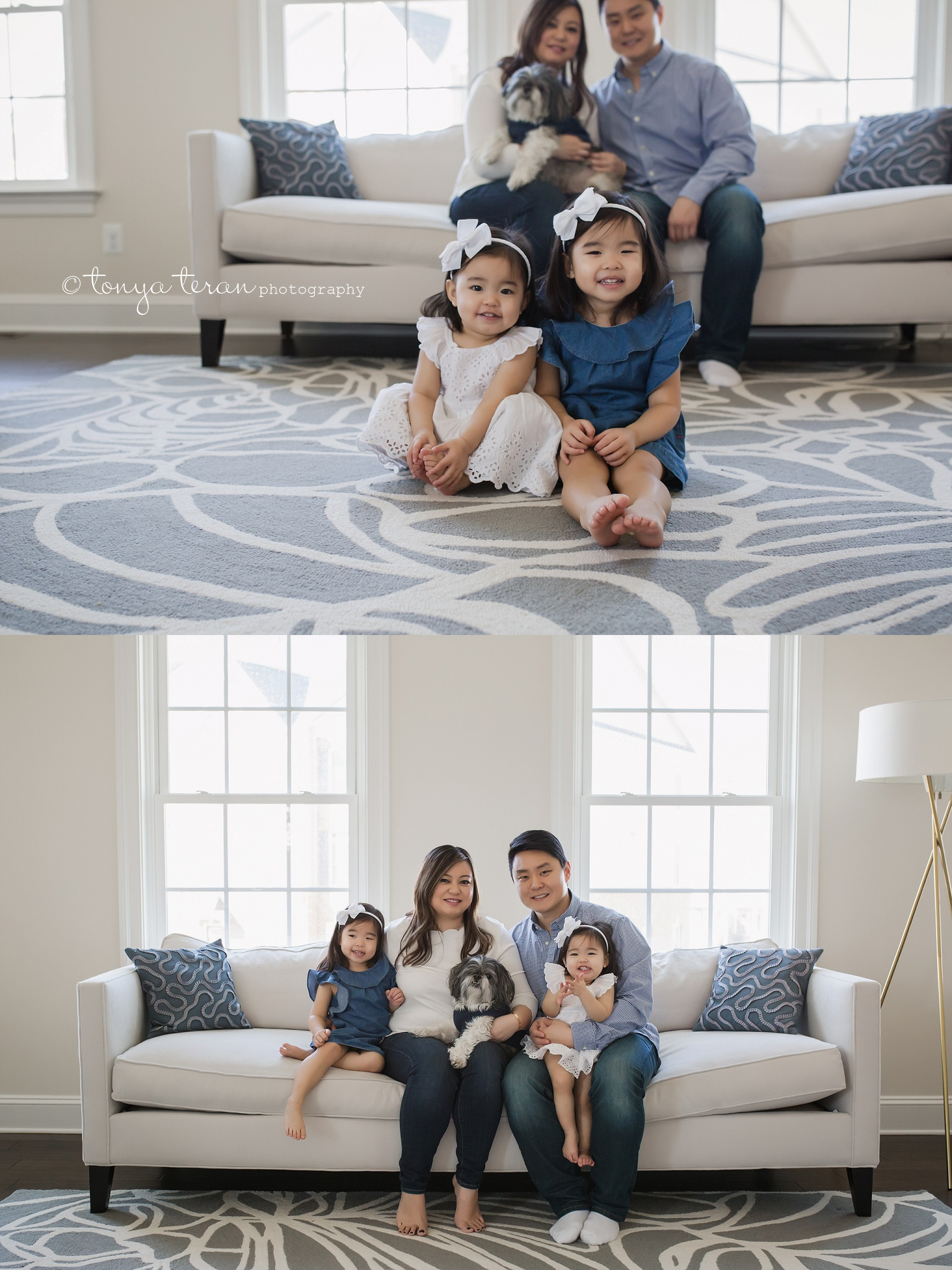 In-home Mini Family Photo Session   Tonya Teran Photography, Potomac, MD Best Newborn, Baby, and Family Photographer