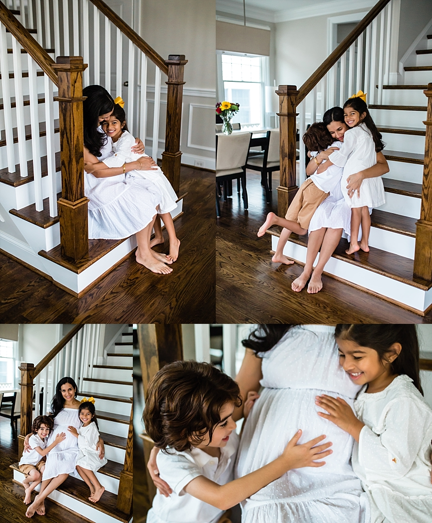 In-home Family Photo Session | Tonya Teran Photography, Bethesda, MD Newborn, Baby, and Family Photographer