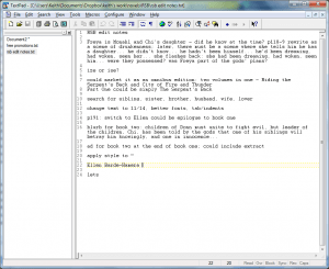 Edit Notes