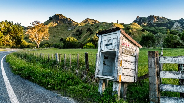Rural New Zealand Letterbox