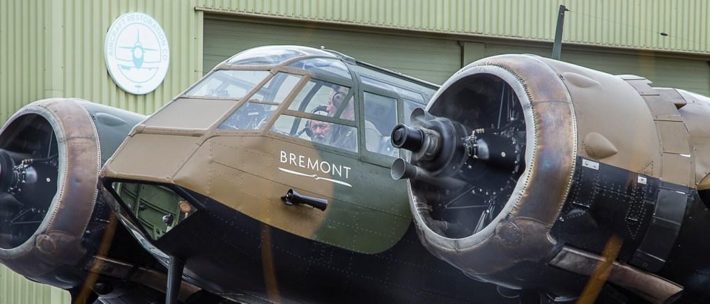 Bristol Blenheim at Duxford Airfield