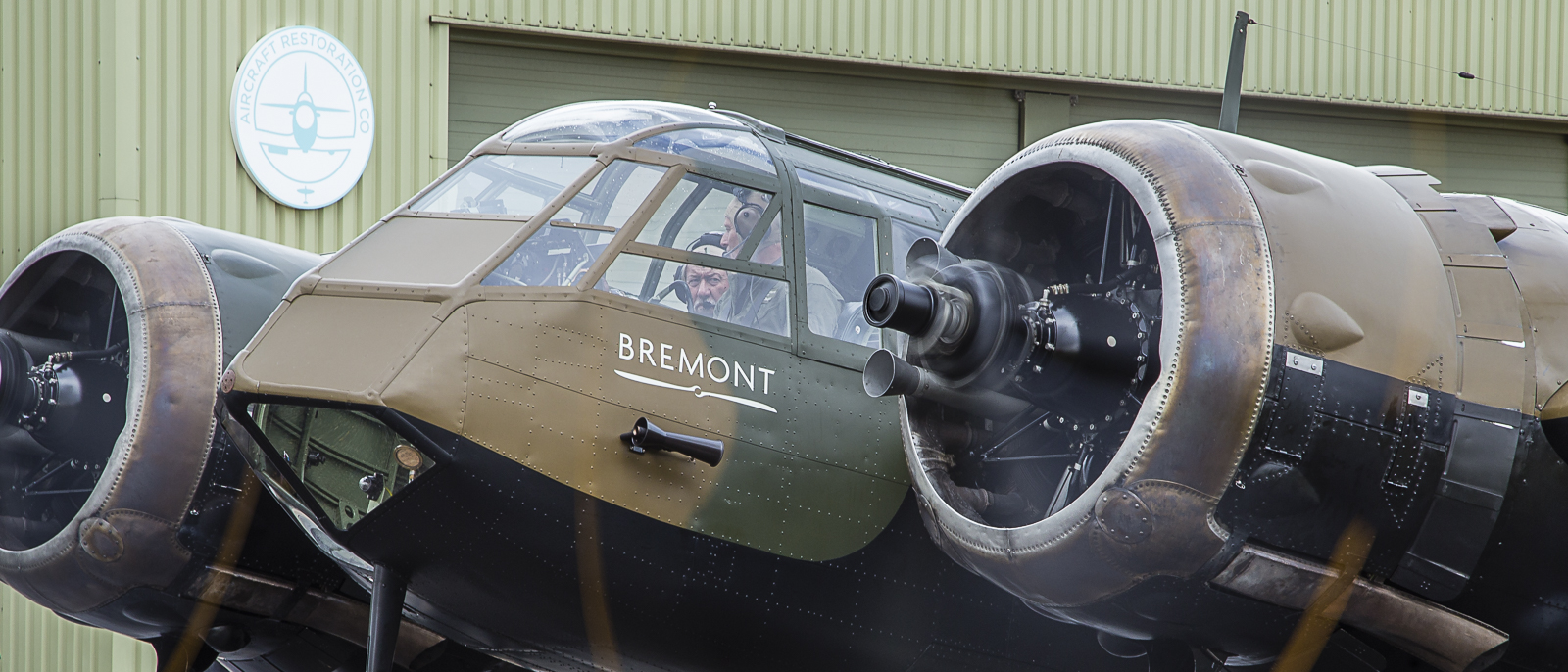 Bristol Blenheim at Duxford Airfield