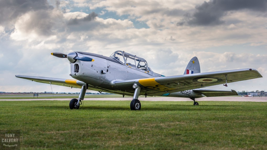 Chipmunk at Duxford Airfield