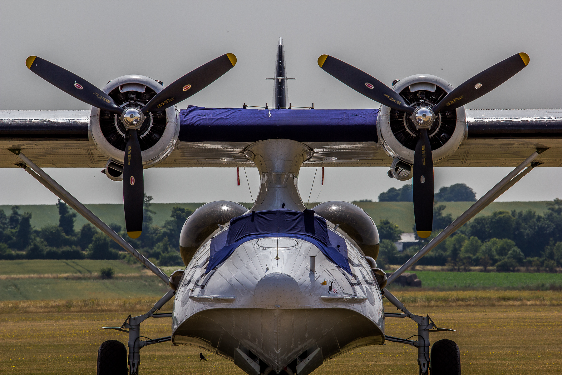 Catalina at Duxford Airfield