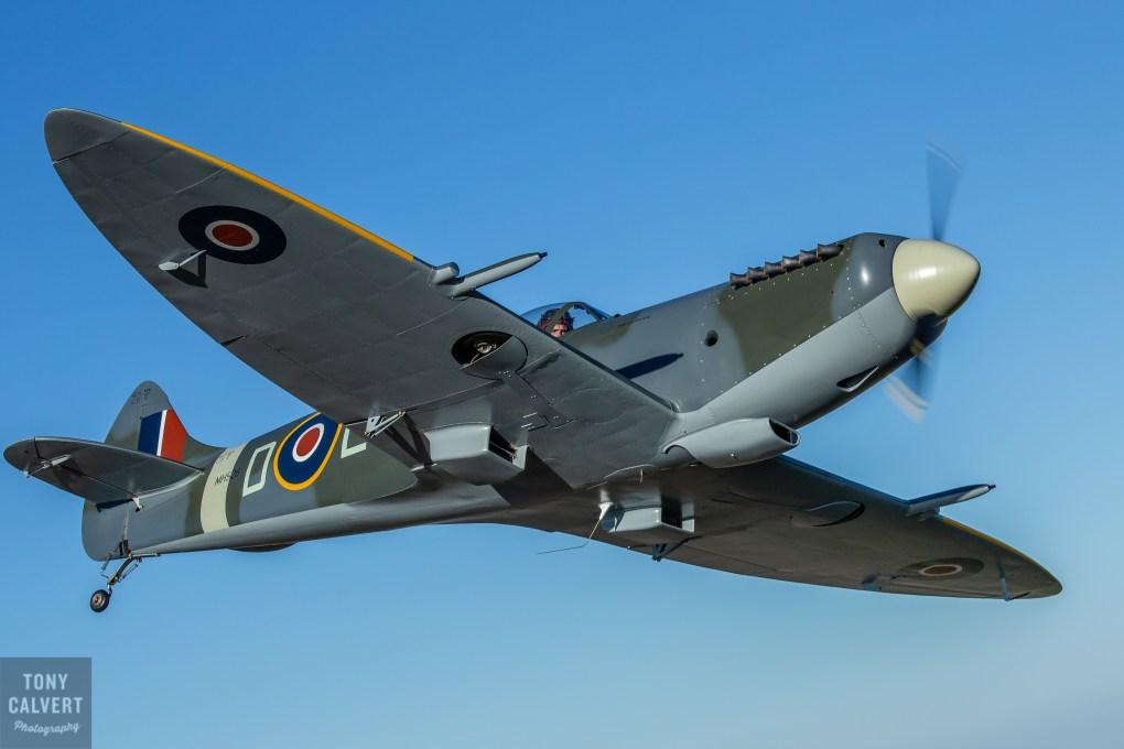 Spitfire Mk26 Wing over
