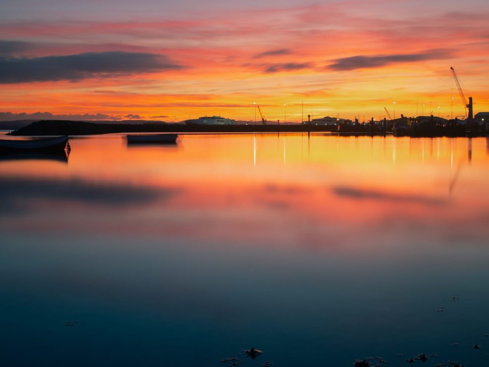 Poole Harbour Sunset #4
