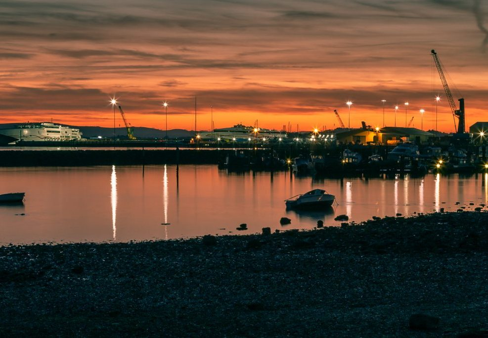 Poole Harbour Sunset #6