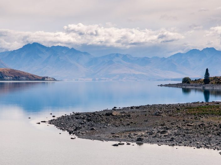 Lake Tekapo in the Mackenzie country